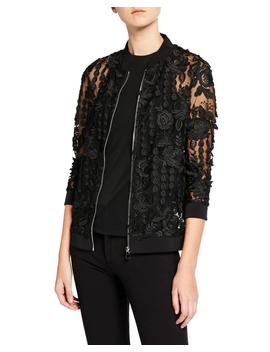 Ariele Lace Bomber Jacket by Anatomie