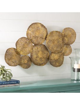 Round Metal Wall Décor by Rosecliff Heights