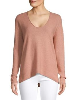 Textured Scoopneck Pullover by Madewell