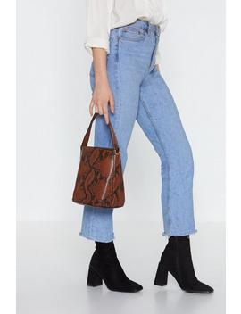 Want It Snakes Two Baby Bucket Bag by Nasty Gal