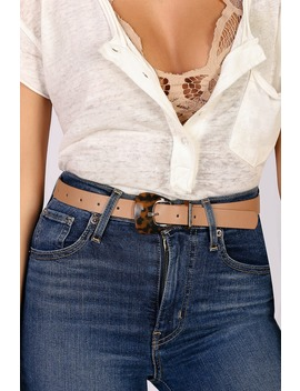 Bevy Brown And Tortoise Belt by Lulus