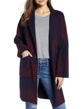 Larsen Reversible Wool Blend Coat by Rails