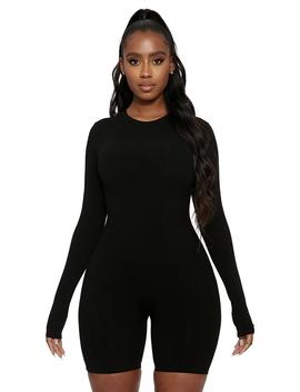 Short &Amp; Snatched Jumpsuit by Naked Wardrobe