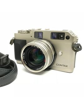 【Exc+++】Contax G1 Rangefinder Film Camera + Planar 45mm F2 From Japan 624 by Contax