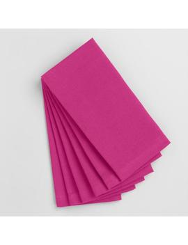 Fuchsia Buffet Napkins Set Of 6 by World Market