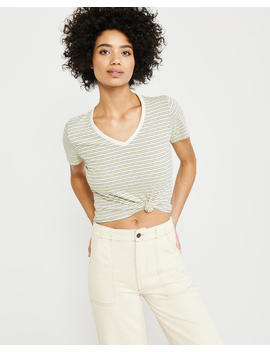 short-sleeve-striped-tee by abercrombie-&-fitch