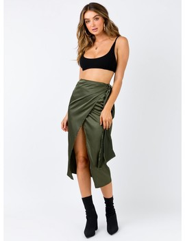 The Richie Wrap Skirt by Princess Polly