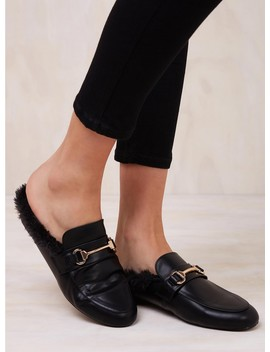 Therapy Black Regal Loafers by The Fifth Label