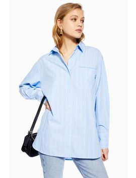 **100 Percents Organic Cotton Oversized Shirt By Selected Femme by Topshop