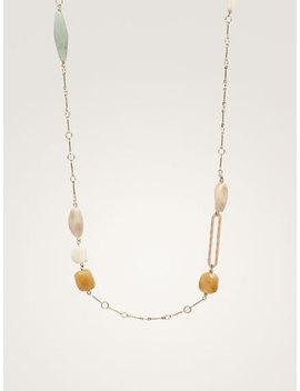 Multicoloured Stone Necklace by Massimo Dutti