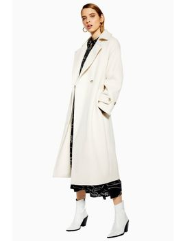 Trench Coat With Wool by Topshop