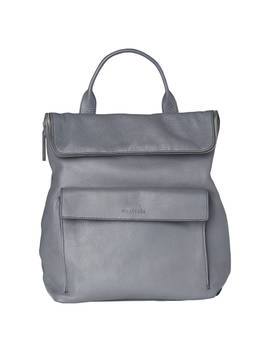 Whistles Verity Large Leather Backpack, Grey by Whistles