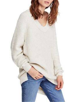 Sunday V Neck Sweater by Free People