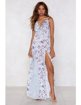 Nice Stems Floral Dress by Nasty Gal