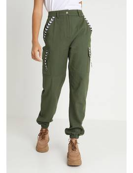 Sports Tape Trouser   Stoffhose by Missguided