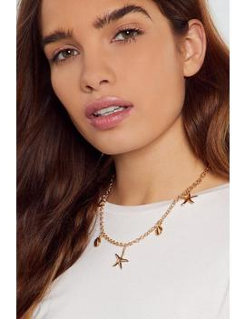 Good As Gold Dainty Shell Necklace by Nasty Gal