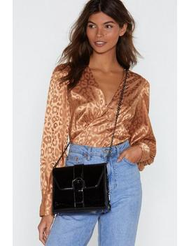 Want Can You Hold Patent Crossbody Bag by Nasty Gal