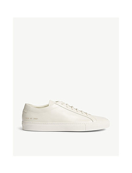 Achilles Leather Low Trainers by Common Projects