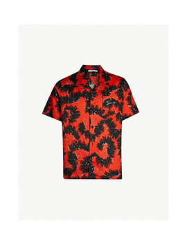 Sea Creatures Print Relaxed Fit Cotton Shirt by Givenchy