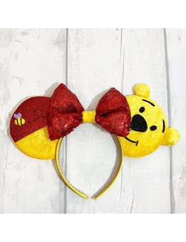 Oh Bother! Ears Inspired By Your Favourite Yellow Bear by Etsy