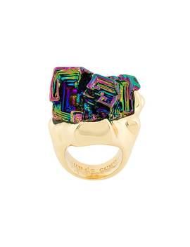 Vortex Rainbow Stone Ring by Coup De Coeur