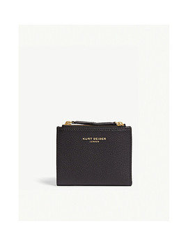 E Mini Leather Purse by Kurt Geiger London