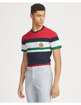Classic Fit Striped Pocket Tee by Ralph Lauren