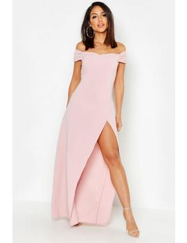 Off The Shoulder Maxi Dress by Boohoo