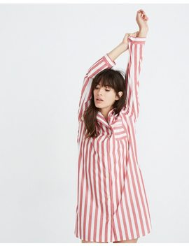 Bedtime Nightshirt In Pierre Stripe by Madewell