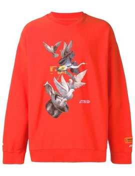 Oversized Printed Sweatshirt by Heron Preston