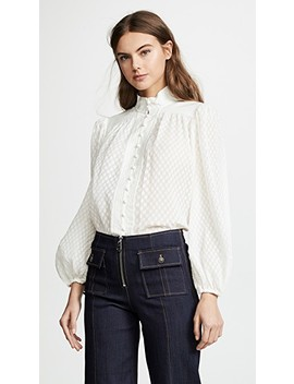 Plisse Blouse by Zimmermann