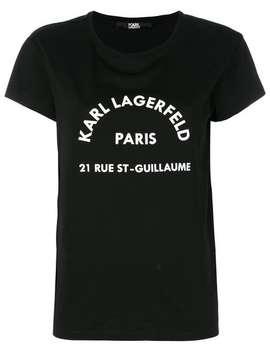T Shirt Met Logoprint by Karl Lagerfeld