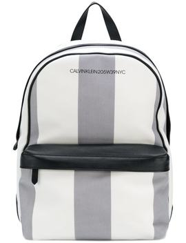 Medium Striped Backpack by Calvin Klein 205 W39nyc