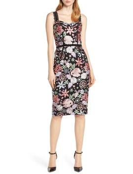 Camille Sleeveless Cocktail Sheath Dress by Bronx And Banco