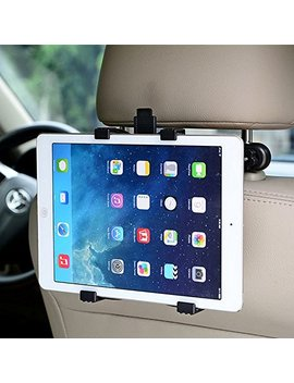 "Car Headrest Tablet Holder 360°Degree Adjustable Rotating Universal Backseat Mount For Apple I Pad 2/3/4/Mini/Air/Pro,Samsung Galaxy Tab,Microsoft Surface,And Other 7"" To 11"" Tablets Pc (B) by Too Goods"