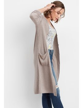 Soft Brushed Ribbed Duster Cardigan by Maurices