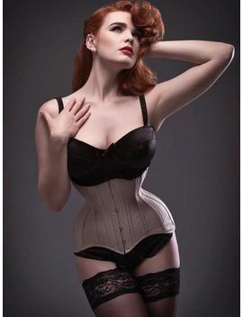 Formation De Nude Soie Bustier Taille Sur Mesure Corset by Etsy