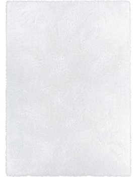 Home Way 7.10 Feet By 9.10 Feet Thick Plush Shag Area Rug   Bright White by Home Way