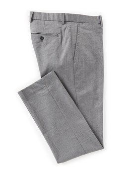 Chambers Straight Fit Flat Front Solid Dress Pants by Cremieux
