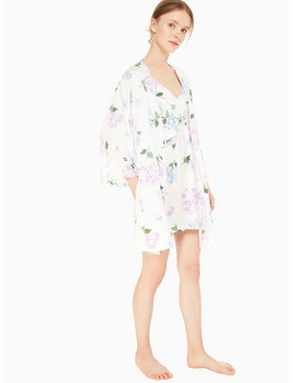 Charmeuse Short Robe by Kate Spade