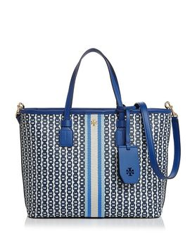 small-gemini-link-canvas-tote by tory-burch