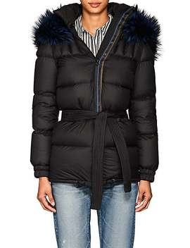 Fur Trimmed Down Puffer Coat by Mr &Amp; Mrs Italy