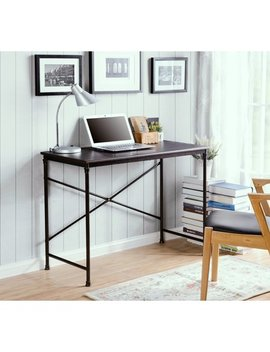 Homestar Prospero Writing Desk With Metal Legs by Homestar