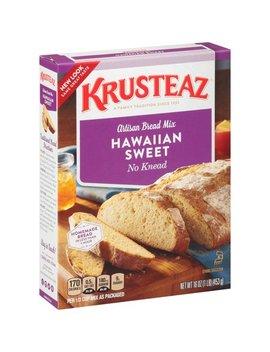 Krusteaz No Knead Hawaiian Sweet Artisan Bread Mix, 16 Ounce Box by Krusteaz