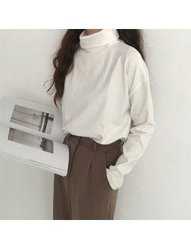 Obbligato   Long Sleeve Turtleneck T Shirt by Obbligato
