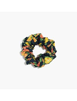 Cotton Scrunchie by J.Crew