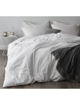 Duvet Cover White Supersoft Bedding by Byourbed