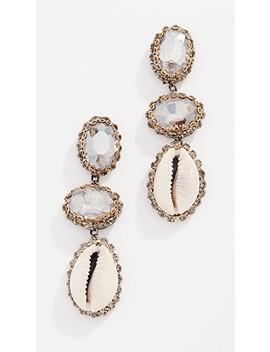 Kaiax Earrings by Deepa Gurnani