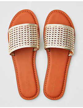 Ae Woven Strap Sandal by American Eagle Outfitters