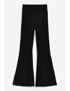 **Ribbed Knit Trousers By Boutique by Topshop